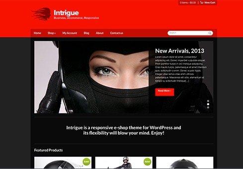 CSS Igniter Intrigue WordPress Theme
