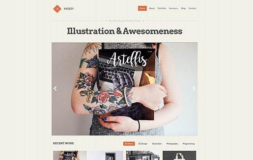 CSS Igniter Mozzy WordPress Theme