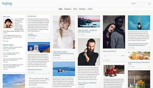 CSS Igniter Pinfinity WordPress Theme