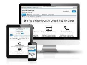 CobaltApps ProductPress Skin for Dynamik Website Builder