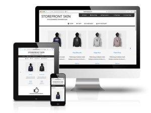 CobaltApps StoreFront Skin for Dynamik Website Builder