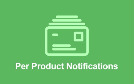Easy Digital Downloads Per Product NotificationsAddon