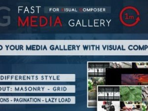 Fast Media Gallery For Visual Composer