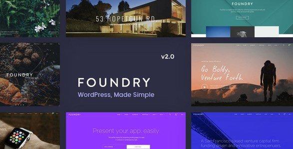 Foundry - Multipurpose Multi-Concept WP Theme