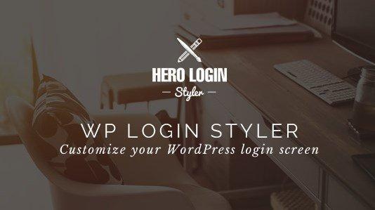 Hero Login Styler - WP Login Screen Customizer