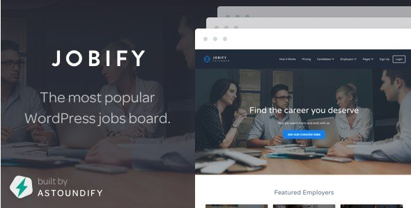 Jobify - WordPress Job Board Theme