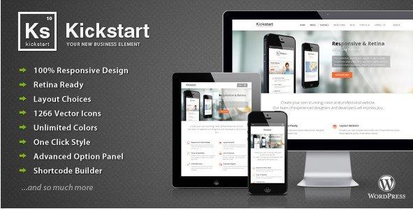 Kickstart - Retina Responsive Multi-Purpose Theme