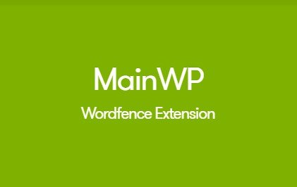 MainWP Wordfence Extension