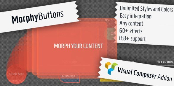Morphy Buttons - Visual Composer Addon
