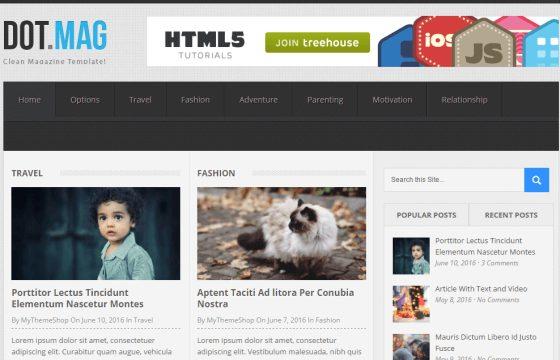 WPLocker-MyThemeShop DotMag WordPress Theme