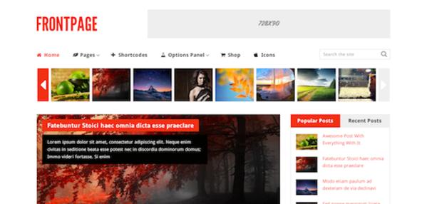 WPLocker-MyThemeShop FrontPage WordPress Theme