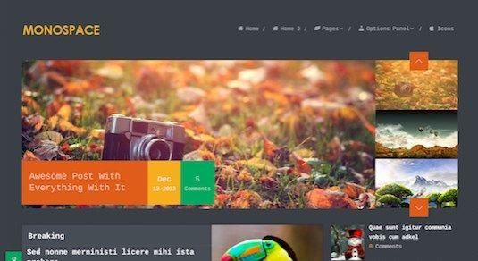 WPLocker-MyThemeShop Monospace WordPress Theme