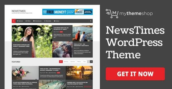 WPLocker-MyThemeShop NewsTimes WordPress Theme