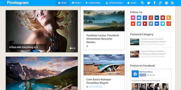 WPLocker-MyThemeShop Pinstagram WordPress Theme