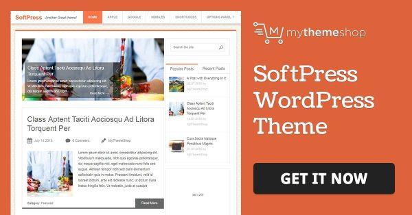 WPLocker-MyThemeShop SoftPress WordPress Theme
