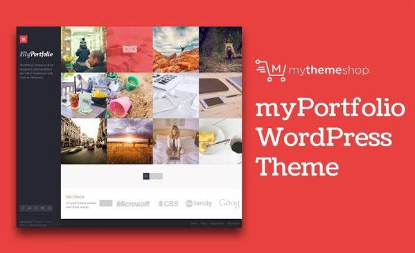 WPLocker-MyThemeShop myPortfolio WordPress Theme