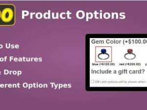Product Options for WooCommerce - WP Plugin