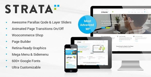 Strata - Professional Multi-Purpose Theme