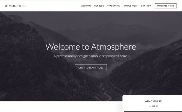 StudioPress Atmosphere Pro Theme