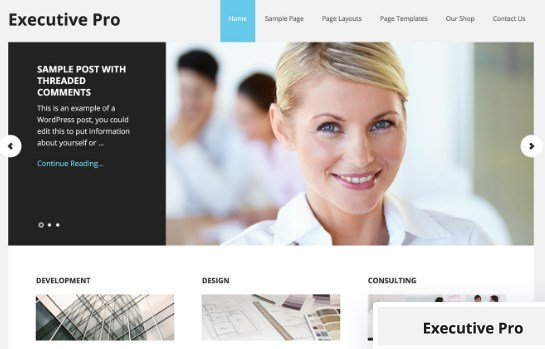 StudioPress Executive Pro Theme