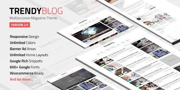 TrendyBlog - Multipurpose Magazine Theme