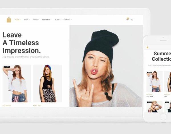 VisualModo Seller WordPress Theme