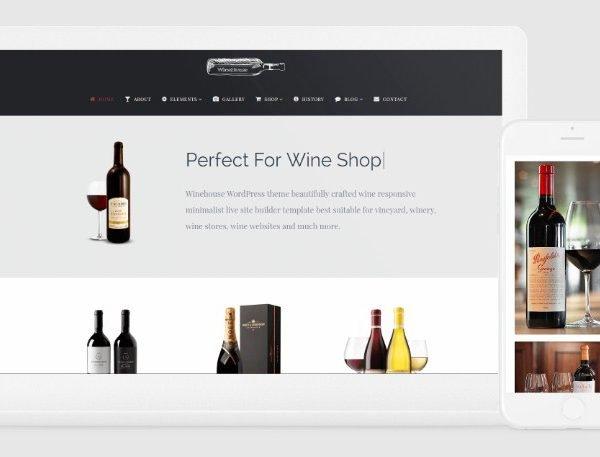 VisualModo Winehouse WordPress Theme