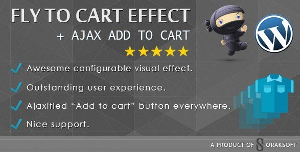 WooCommerce Fly to Cart Effect + Ajax add to cart