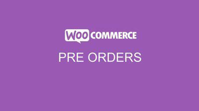 WooCommerce Pre Orders
