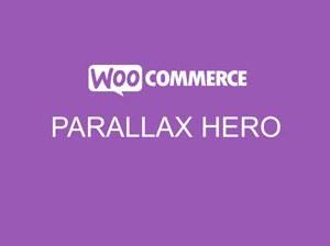 WooCommerce Storefront Parallax Hero
