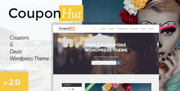 Couponhut Coupons Deals Wordpress Theme