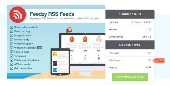 Feedzy RSS Feed Premium