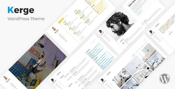Kerge - Resume / CV / vCard / Portfolio