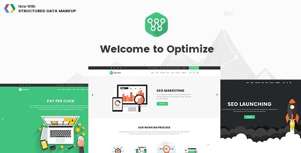 Optimize – SEO & Social Media Theme