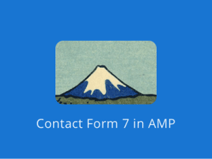 AMP for Contact Form 7