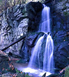 Baskins Creek Falls in the GSMNP