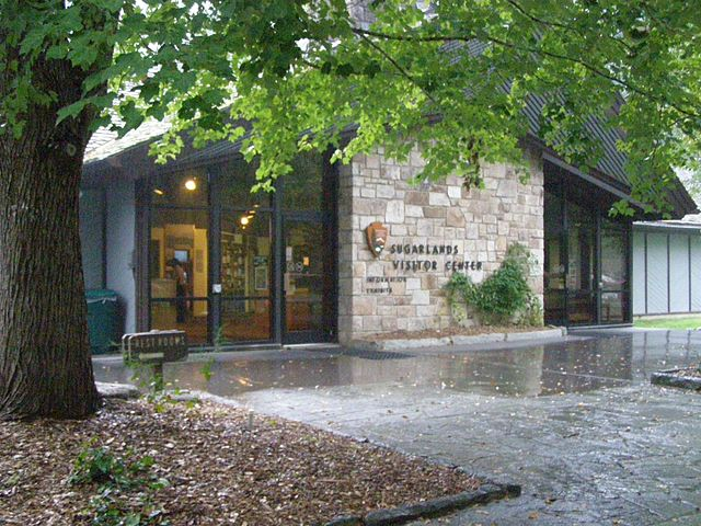 Sugarlands Visitor Center in the Great Smoky Mountains National Park