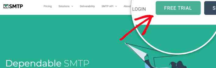 how to set up the smtp.com mailer in wp mail smtp