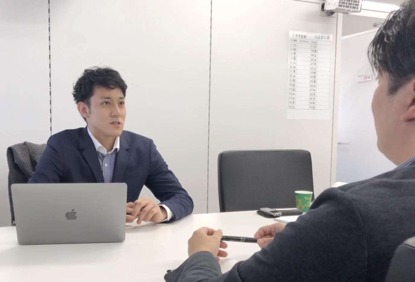 日刊ゲンダイ インタビュー風景2