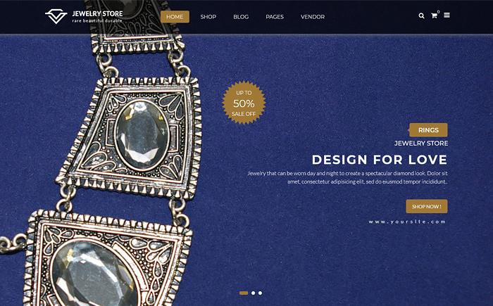 Karo - Handcrafted Jewelry and Diamond Responsive WooCommerce WordPress Theme