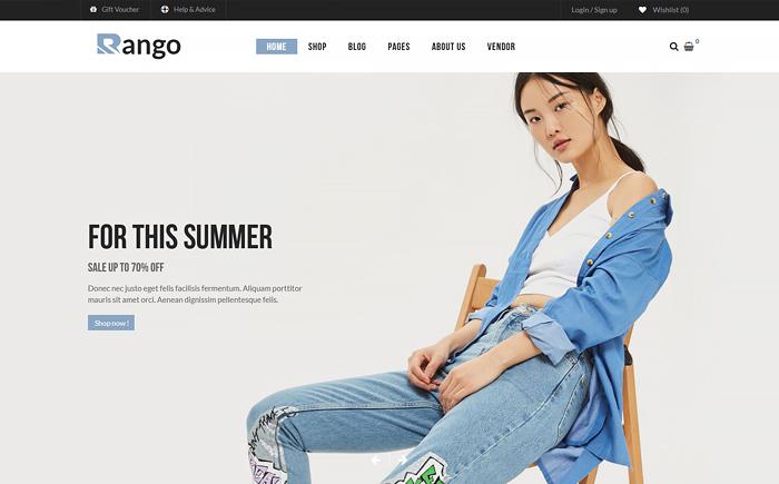 Rango - Premium Multi-Purpose Responsive WooCommerce WordPress Theme