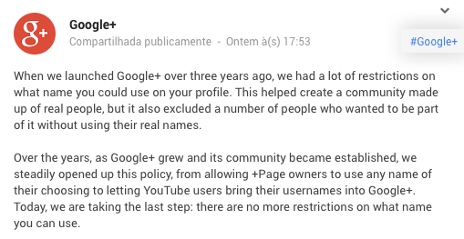 google-libera-pseudonimos