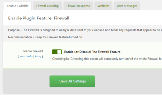 Shield Security for WordPress Firewall