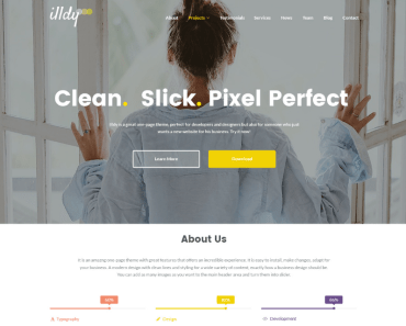 illdy Wordpress Theme