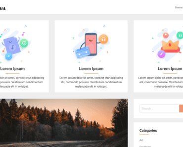 Cleanews Wordpress Theme Full Preview