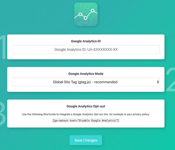 Google Analytics Germanized Settings