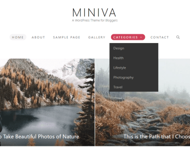 Miniva Theme Preview-min
