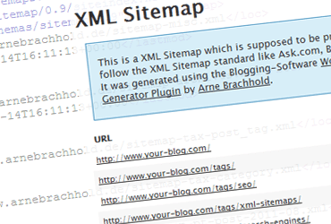 Minimalist XML Sitemap Generator For Wordpress