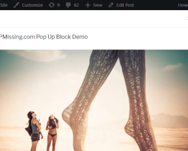 Quickly Create Popup Window In Gutenberg Editor - Pop Up Block