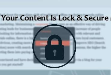 Smart Content Protection